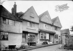 Midhurst, Old Houses, Church Street 1906