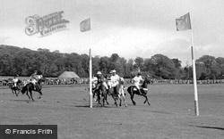 Midhurst, Polo At Cowdray Park c.1960