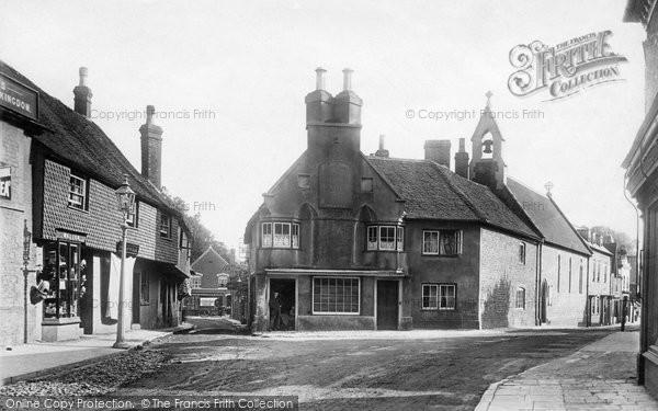 Photo of Midhurst, Rumbold's Hill 1898