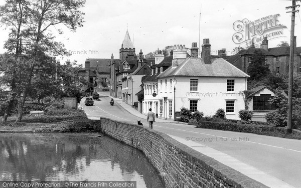 Photo of Midhurst, South Pond c1955