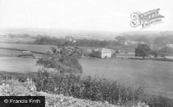 Midhurst, View From Allotment Gardens 1907