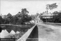 Midhurst, View From The Bridge 1898