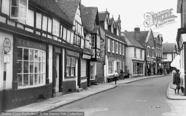 Photo of Midhurst, West Street c1965