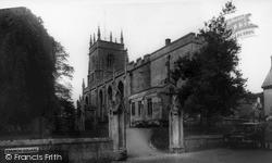 Midsomer Norton, Church Of St John The Baptist c.1965
