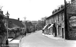 Midsomer Norton, High Street 1952