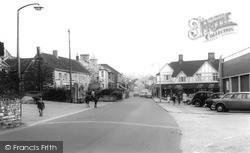 Midsomer Norton, High Street 1967