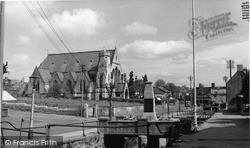 Midsomer Norton, High Street c.1955