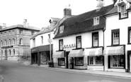 Midsomer Norton, High Street c1965