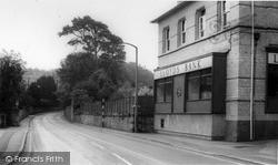 Midsomer Norton, Lloyds Bank, Silver Street c.1965