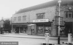 Midsomer Norton, United Counties Store, High Street c.1965
