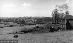 Midsomer Norton, View From Green Hill c.1955