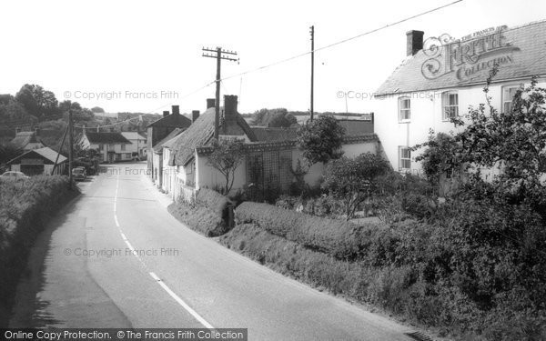 Milborne St Andrew, Main Street c1960