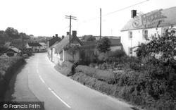 Main Street c.1960, Milborne St Andrew
