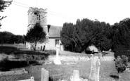 Milborne St Andrew, St Andrew's Church c1960