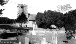 St Andrew's Church c.1960, Milborne St Andrew