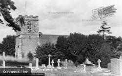 The Church c.1955, Milborne St Andrew