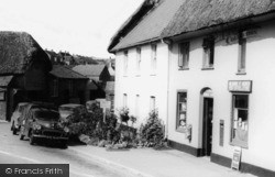 The Post Office c.1960, Milborne St Andrew