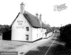 The Royal Oak c.1960, Milborne St Andrew