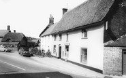 Milborne St Andrew, the Square and Post Office c1960