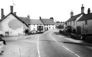 Milborne St Andrew, the Square c1960