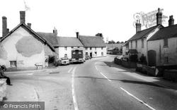 The Square c.1960, Milborne St Andrew