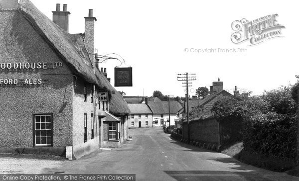 Milborne St Andrew, the Village c1955