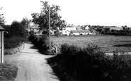 Milborne St Andrew, the Village c1960