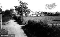 The Village c.1960, Milborne St Andrew