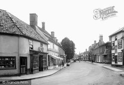 Mildenhall, High Street 1925
