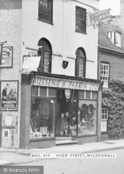 Mildenhall, High Street, Bussens & Parkin Ltd c.1955