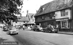 Mildenhall, High Street c.1965