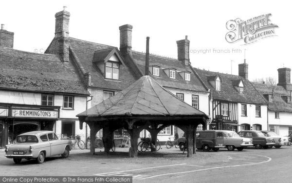 Photo of Mildenhall, Market Cross c.1965