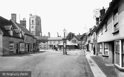 Mildenhall, Market Place 1925