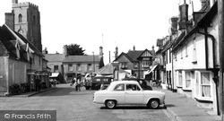 Mildenhall, Market Place c.1965