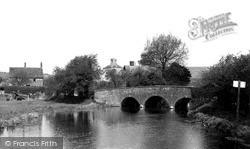 Mildenhall, The Old Bridge 1952