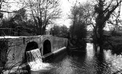 Mildenhall, The River Lark c.1965