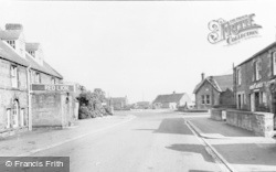 Milfield, Main Road c.1955
