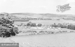 Milfield, Milfield Plain c.1960