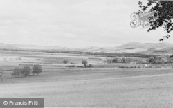 Milfield, Plain And The Cheviot Foothills c.1960