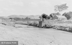 Milfield, River Till And Red Scar c.1955