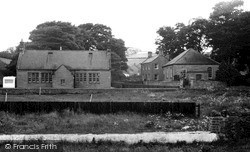 Milfield, The School, Chapel And Manse c.1960