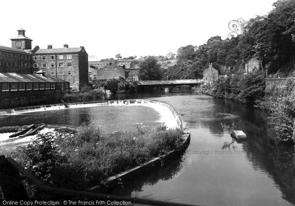 Milford, the River c1955