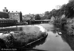 Milford, Bridge And River Derwent c.1955