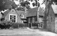 Milford, Church of St John and School c1955