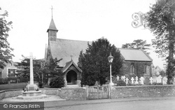 Milford, Church Of St John And War Memorial 1921