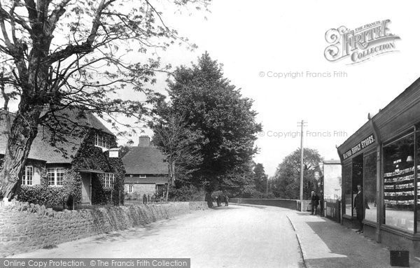 Photo of Milford, Church Road 1906