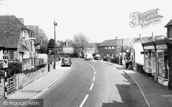 Milford, Church Road c.1955