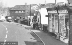 Milford, Filling Station And Shops c.1955