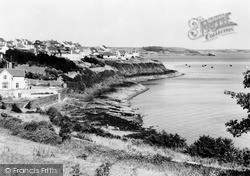 Milford Haven, Conduit Beach From Point Fields c.1960