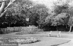 Milford Haven, Garden Of Remembrance c.1955